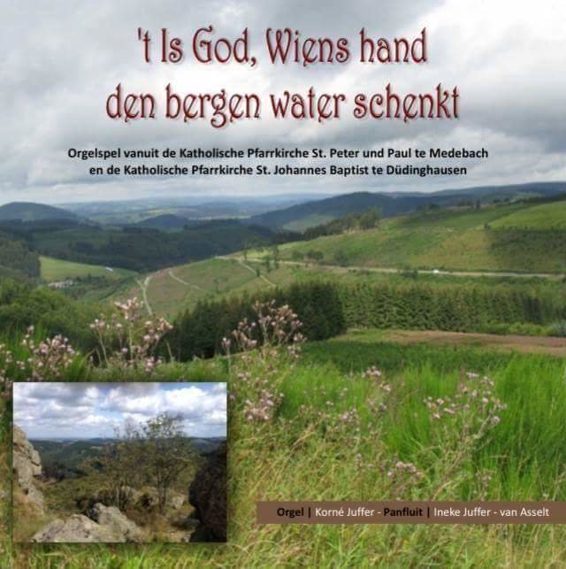 CD: 't Is God, Wiens hand den bergen water schenkt